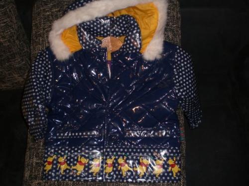 free shipping 36853 18cca Winterjacke Lack von Winnie the Pooh in den Gr. 92-98, 104-110 und 116-122