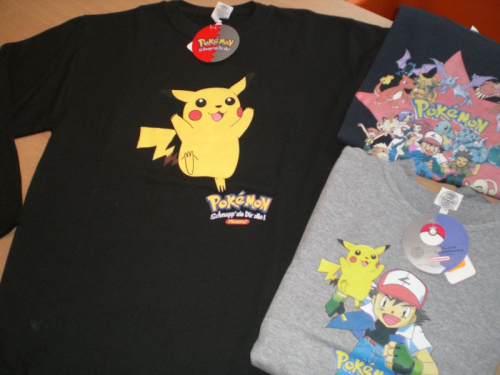 Pokemon Sweat-Shirt Pikatchu Gr. 164