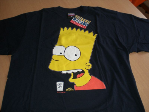 Bart Simpsons T-Shirt Gr. M